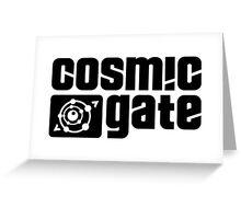 cosmic gate Greeting Card