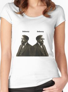 Debussy Women's Fitted Scoop T-Shirt