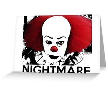 Pennywise - Your Worst Nightmare Greeting Card