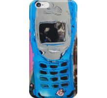 Recycled Mobile Phone cases - BLUE & PIG iPhone Case/Skin