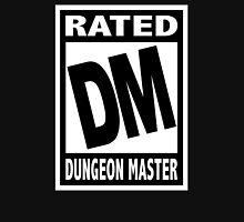 Rated DM for Dungeon Master Unisex T-Shirt
