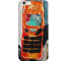 Recycled Mobile Phone cases - ORANGE iPhone Case/Skin