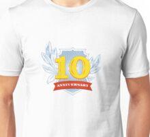 10 th anniversary Unisex T-Shirt