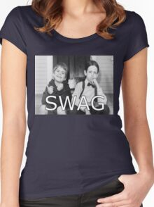 Little Rascals Swagger Women's Fitted Scoop T-Shirt
