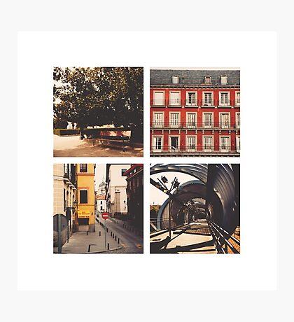 Madrid's lines Photographic Print