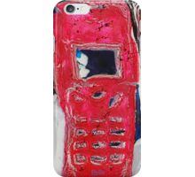 Recycled Mobile Phone cases - RED iPhone Case/Skin