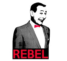 Pee Wee Herman - What a Rebel Photographic Print