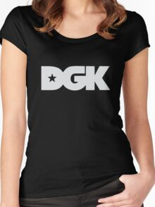 Dirty Ghetto Kids DGK Women's Fitted Scoop T-Shirt