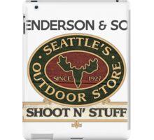 Seattle's Outdoor Store iPad Case/Skin