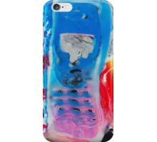 Recycled Mobile Phone cases - BLUE & PINK iPhone Case/Skin