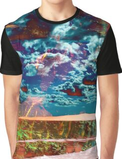 Electric Oceanscape Graphic T-Shirt