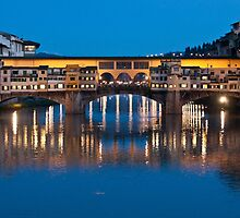 Ponte Vecchio by PhotoPerocsenyi
