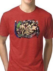 Super Sonic Hip Hop ball  Tri-blend T-Shirt