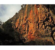 Rock Climbers Paradise Photographic Print