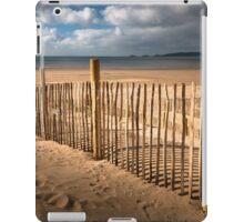 Swansea Bay dune defence iPad Case/Skin