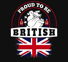 WE'RE ALL PROUD TO BE BRITISH Unisex T-Shirt