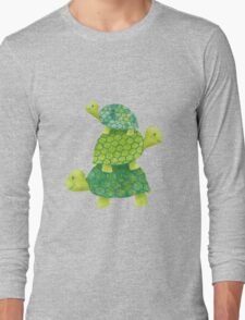 Turtle Stack Long Sleeve T-Shirt