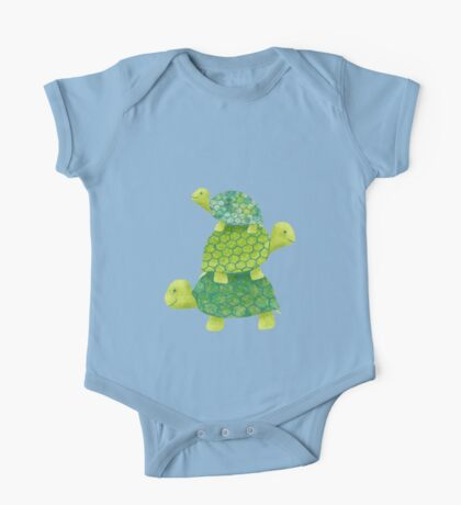 Turtle Stack One Piece - Short Sleeve