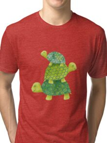 Turtle Stack Tri-blend T-Shirt