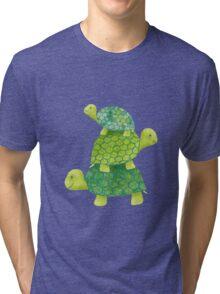 Turtle Stack Tri-blend T-Shirt