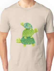 Turtle Stack Unisex T-Shirt