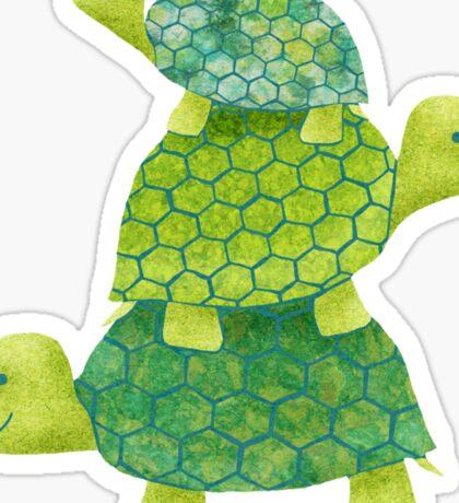 Turtle Stack Sticker