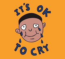 It's Ok to Cry Womens Fitted T-Shirt