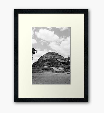 Mayan Ruins Framed Print