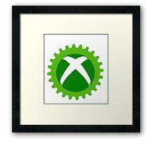 xbox cog  Framed Print