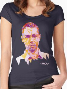 MCA Is A Hero Women's Fitted Scoop T-Shirt