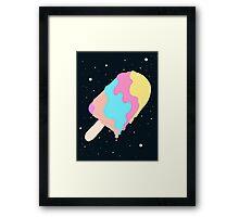 Popsicle Illusion Framed Print