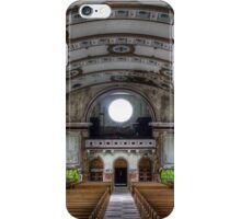 Rear Panorama, Most Blessed Sacrament, Philadelphia iPhone Case/Skin