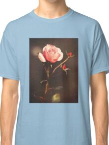 Single rose in the garden Classic T-Shirt