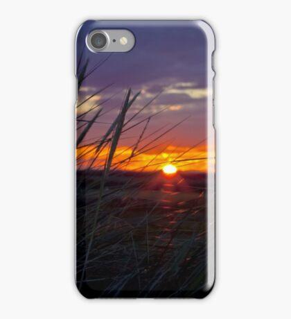 Northumbrian Sunset iPhone Case/Skin