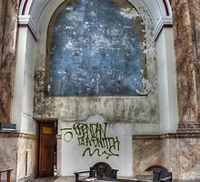 Empty Side Altar, Most Blessed Sacrament, Philadelphia by PhillyChurches