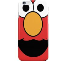 Elmo Head Smile iPhone Case/Skin