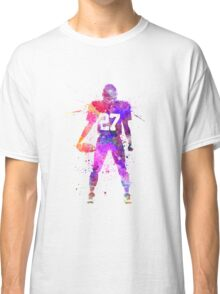 quarterback american football player man Classic T-Shirt