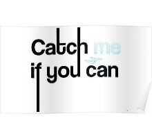 Cath me if you can Poster