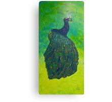 Peacock Skin Canvas Print