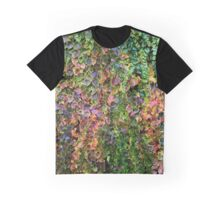 Colourful Boston Ivy Graphic T-Shirt