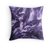 Purple Madness Throw Pillow