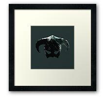 Dragon Born Helmet Framed Print