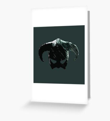 Dragon Born Helmet Greeting Card