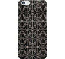 Deathly Hallows Pattern  iPhone Case/Skin