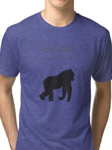 Harambe Sighted Tri-blend T-Shirt