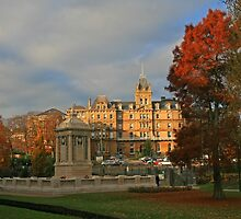 Bournemouth Town Hall & Cenotaph by RedHillDigital