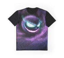 A wild Gastly appears! Graphic T-Shirt