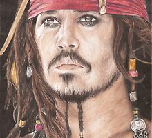 Captain Jack Sparrow by Jade Jones