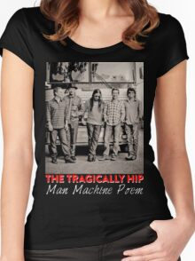 Gon03 TRAGICALLY HIP TOUR 2016 Women's Fitted Scoop T-Shirt