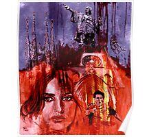BARCELONA - original painting Poster